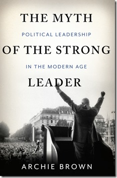 The Myth of the Strong Leader - cover