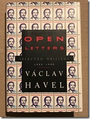 Open Letters by Vaclav Havel - cover
