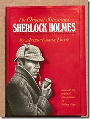 The Original Illustrated Sherlock Holmes by Arthur Conan Doyle - cover