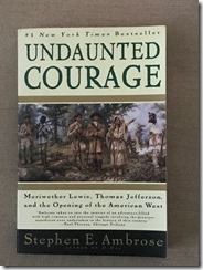 Undaunted Courage by Stephen Ambrose - cover