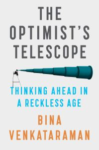 Cover of The Optimist's Telescope
