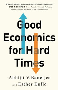 Cover of Good Economics for Hard Times