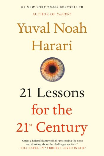 Cover of 21 Lessons for the 21st Century