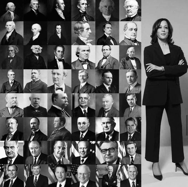 All US Vice Presidents and Kamala Harris