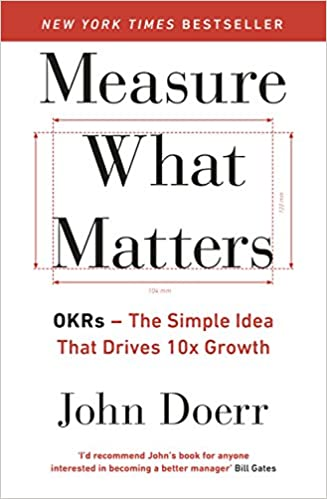 Cover of Measure What Matters by John Doerr