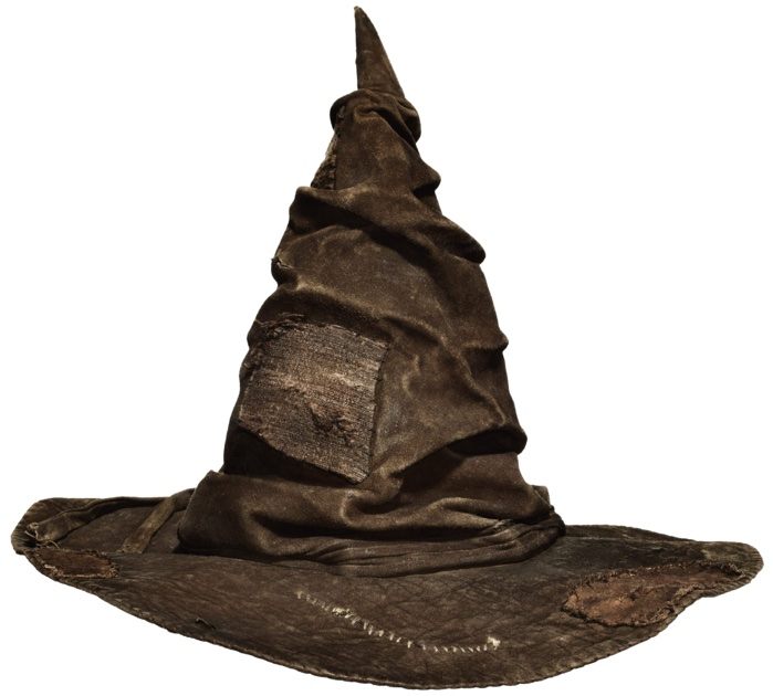 The sorting hat, a magical classifier.