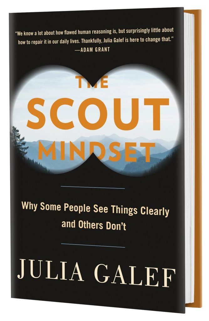 Cover of The Scout Mindset